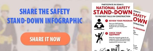 Share the Safety Stand-Down Infographic