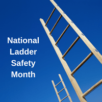 March is National Ladder Safety Month