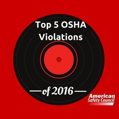 Top OSHA violations in 2015